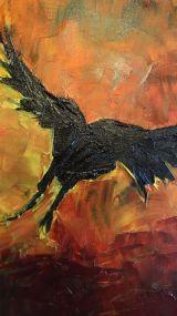 crow print (b)