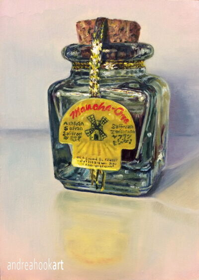 A Little Jar of Saffron: Sold