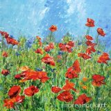 Blowsy Poppies