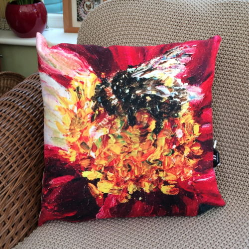 Buff-tailed Bumblebee Cushion