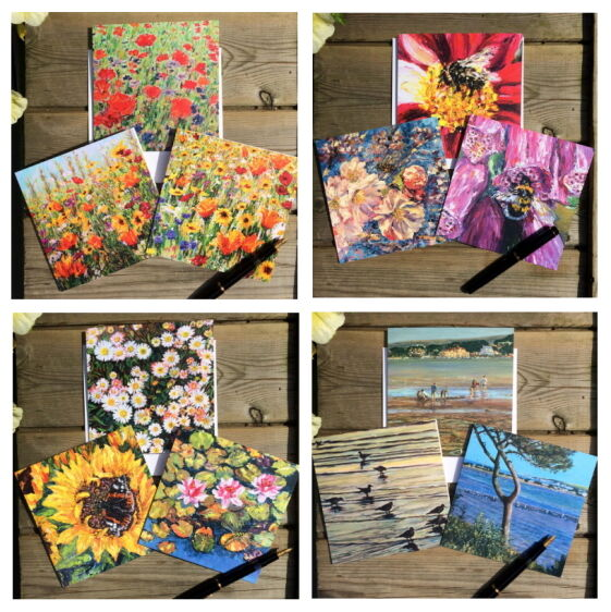 bumble bee coastal floral daisy wildflowers bee honey bee blossom waterlily foxglove wildflower cards