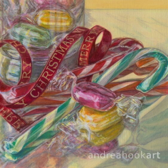 Candy Canes & Curling Ribbon