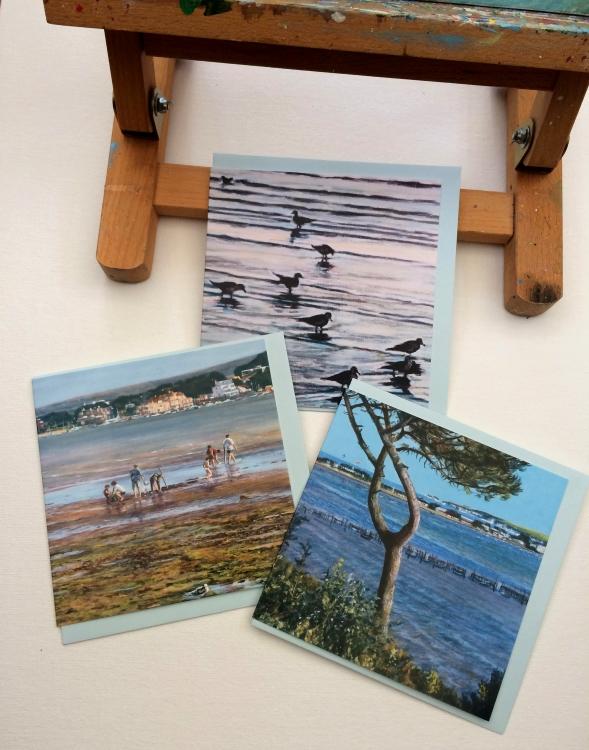 Etsy: Set of 3 Coastal Cards