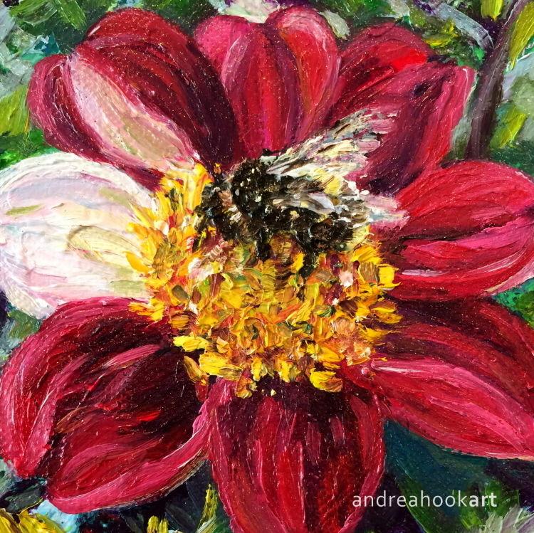 Dahlia Bumblebee