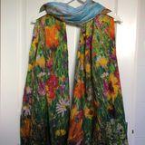 Jewel Border scarf