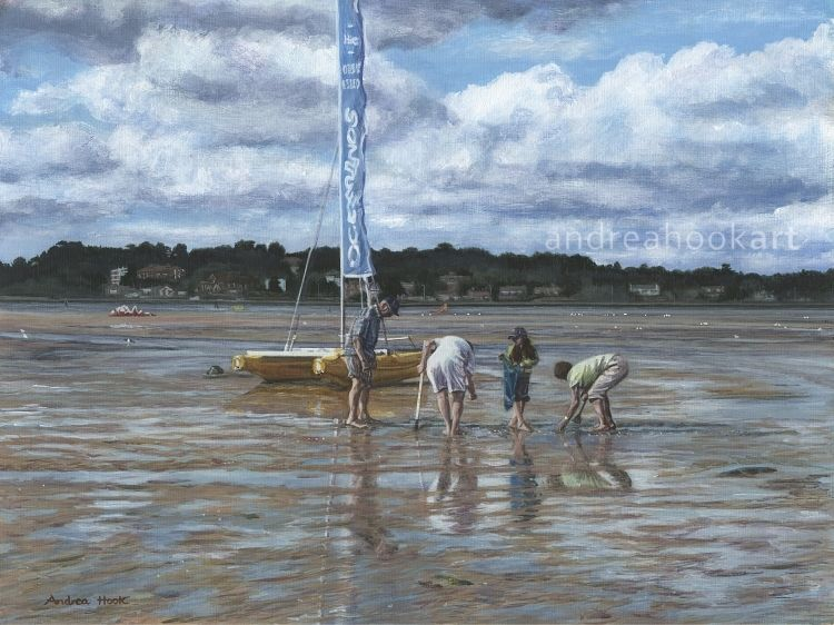 Low Tide - Sandbanks, Poole, Dorset