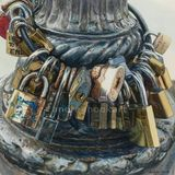 Precious Metal, Love Padlocks, Florence