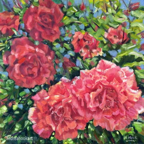 Rose-scented Summer Breeze