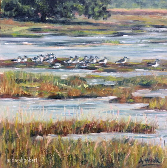 The Salt Marshes, Holes Bay: £85