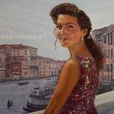 Vintage Dress, Venice