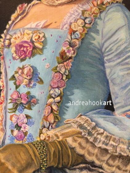 Masquerade, Venice (detail)
