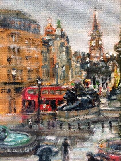 Sunny Intervals, Trafalgar Square (detail 1)