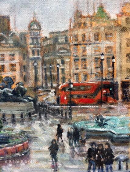 Sunny Intervals, Trafalgar Square (detail 2)