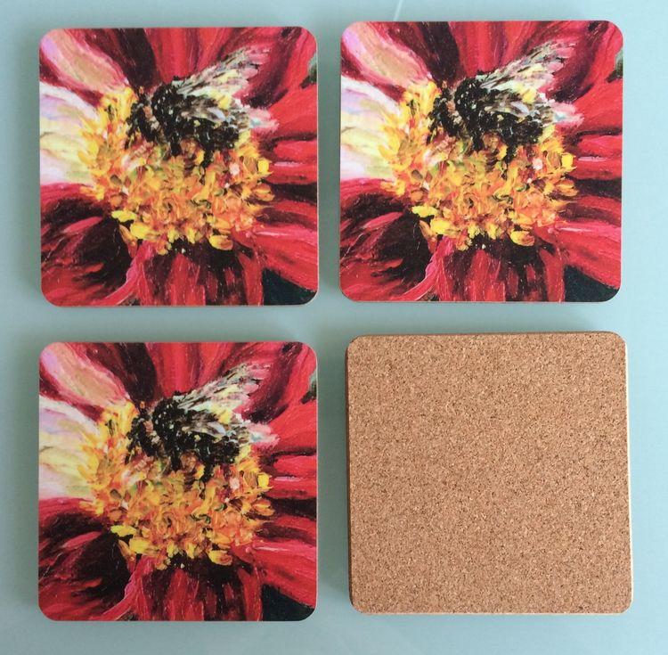 NEW: Bumblebee Coasters