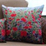 Poppies & Cornflowers Cushion