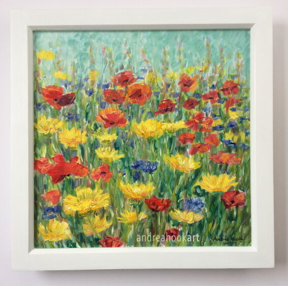 Summer Border - Framed: £175