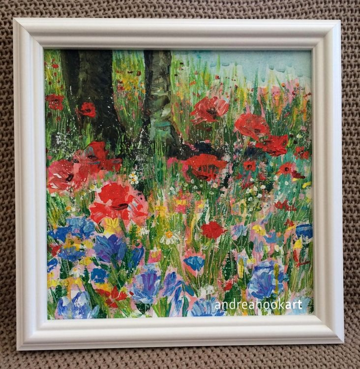 Out of the Woods - framed painting SOLD