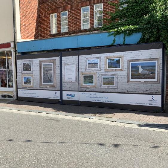 Coastal Images on Poole Quay Shopfront