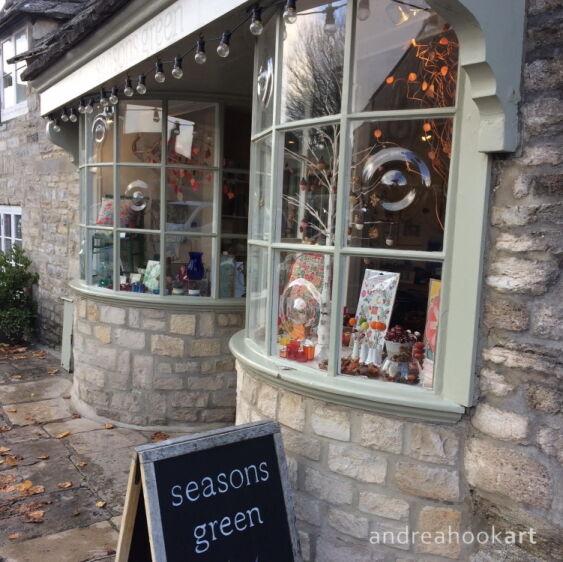 Cushions & Paintings at Seasons Green, Corfe Castle, Dorset