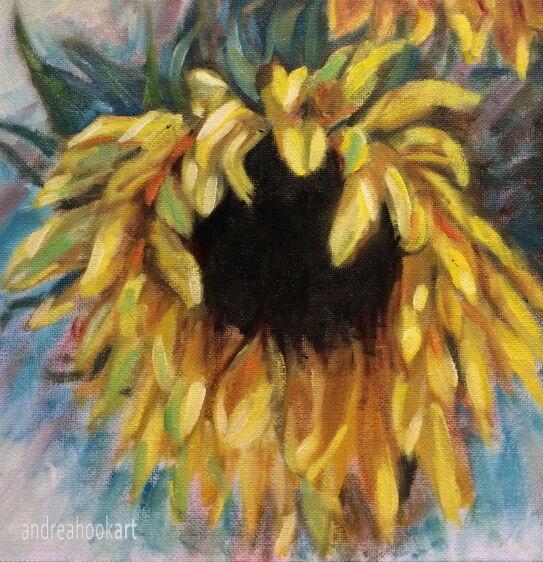 Solo Sunflower - detail