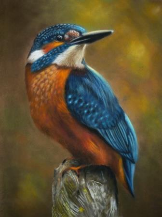 Kingfisher Blue - SOLD