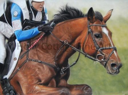 No. 66  Horse Leria Du Ter  Rider Gwendolen Fer (FRA)