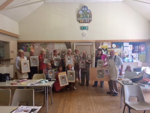 Workshop at Whissendine Art Group