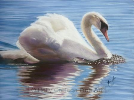 Swanning around - SOLD