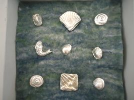 Pewter Brooches