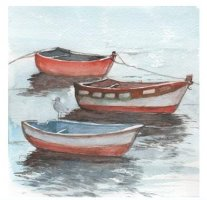Three Little Boats by Heather Read