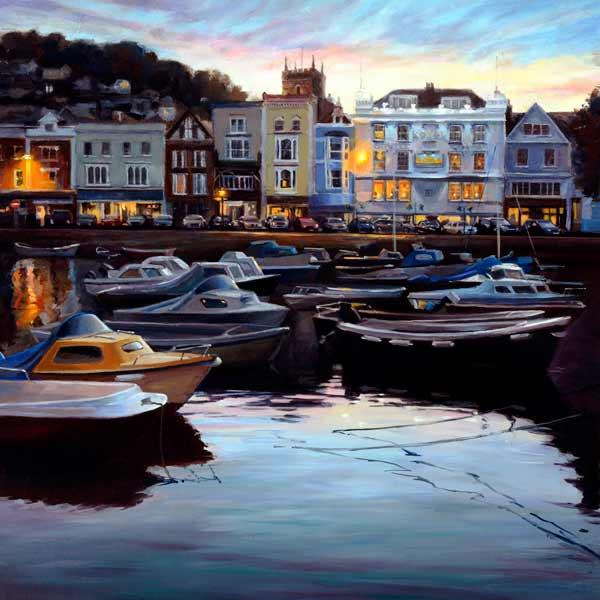 Evening Boat Float