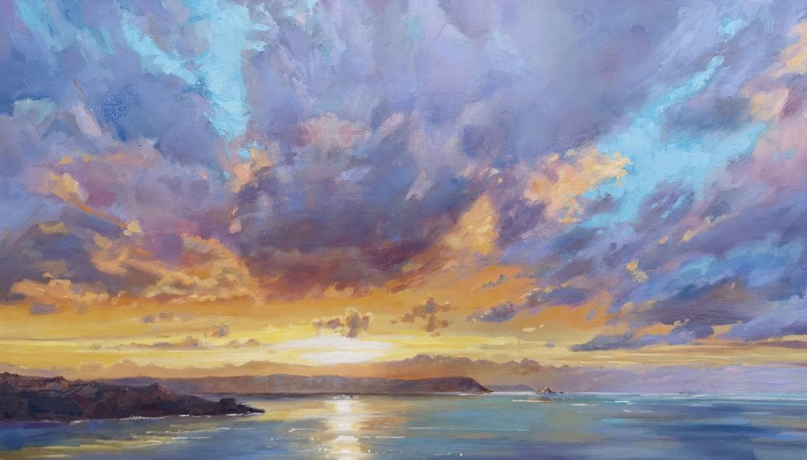 Sunrise Over Nare Head
