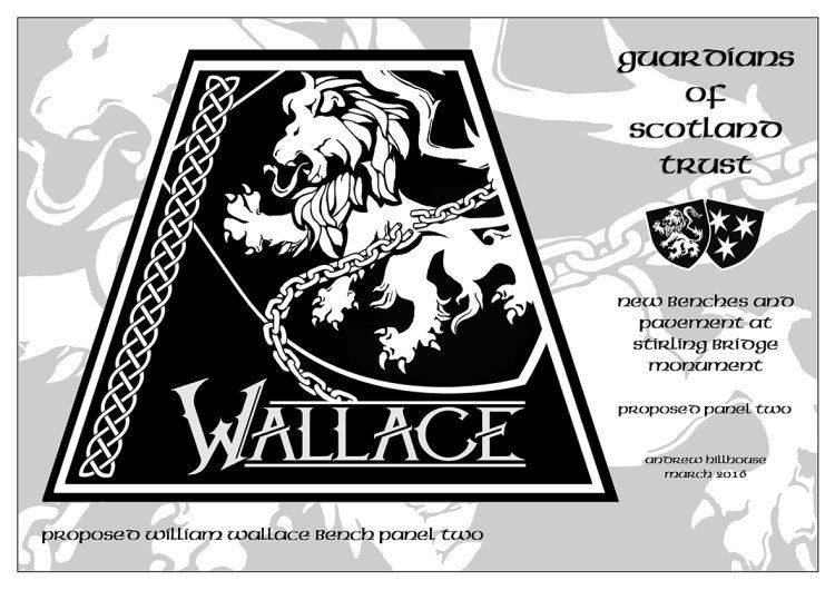 Guardians of Scotland Trust - William Wallace panel 2