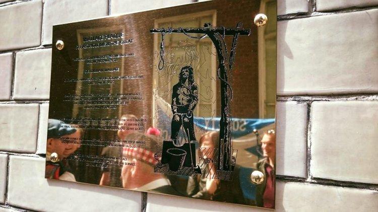 St Bart's Plaque