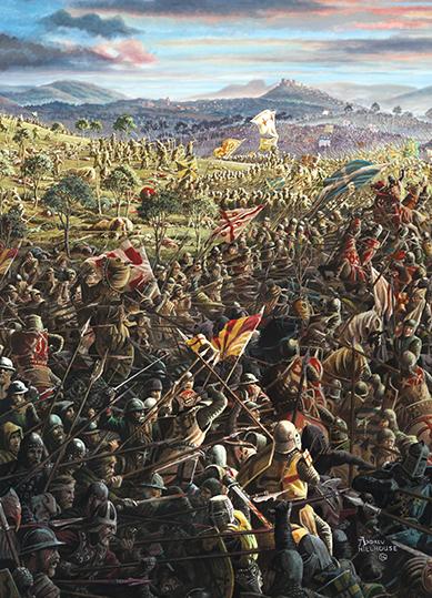 Battle of Bannocknurn detail