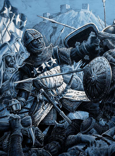 Death of the Black Douglas at Teba