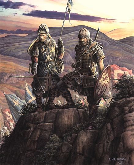 Generals of the Army of Scotland - Andrew de Moray and William Wallace