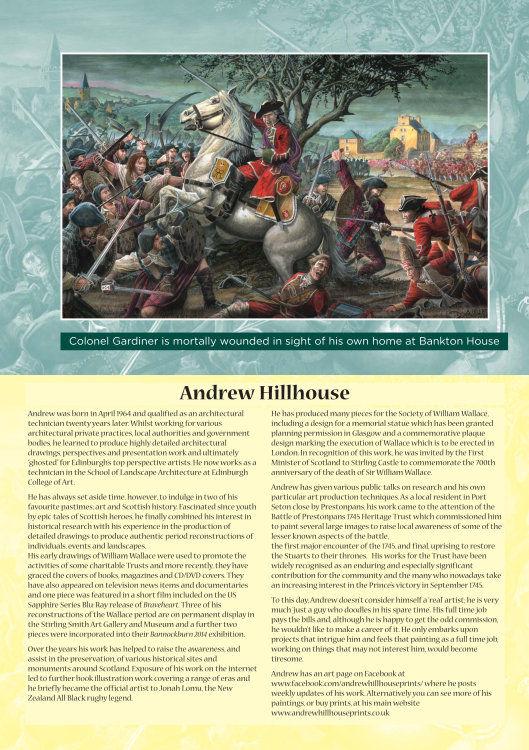 Battle of Prestonpans 1745 Heitage Trust Brochure page 1