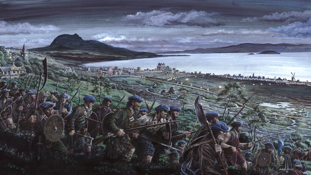 Riggonhead night march - battle of Prestonpans