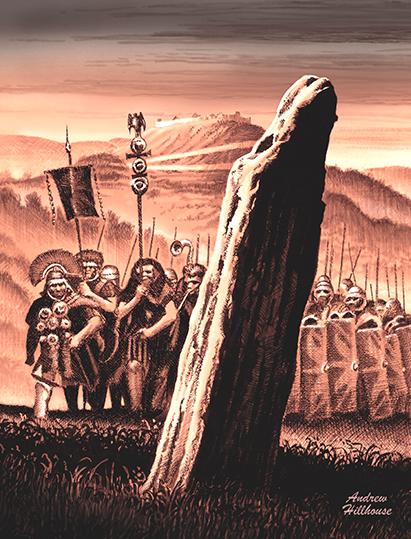 Roman Patrol at Traprain Law