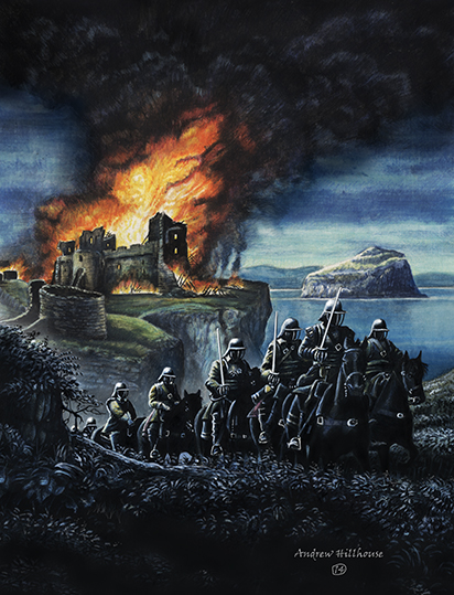 Sack of Tantallon Castle