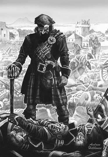 Aftermath of the battle of Prestonpans
