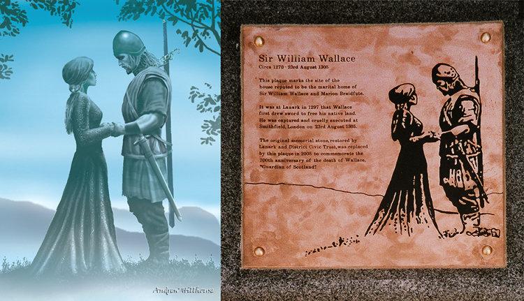 Spirit of Lanark plaque