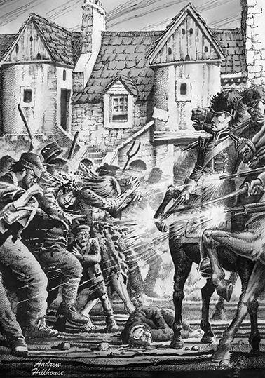 the massacre of Tranent