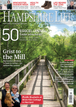Hampshire Life cover, April 2015