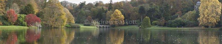 Stourhead Autumn Panorama