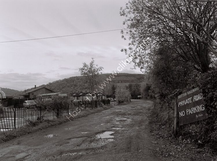 Goods yard and station approach, Monmouth