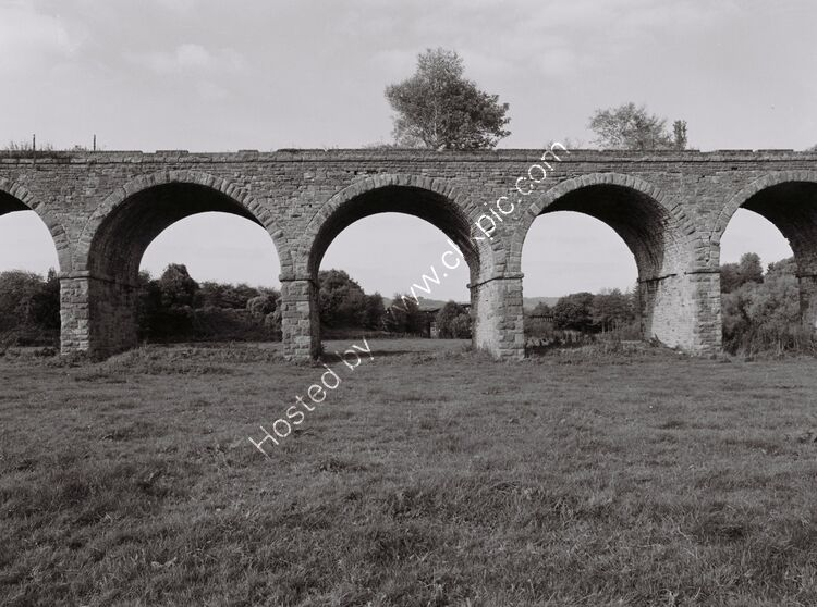 Derelict viaduct, Monmouth