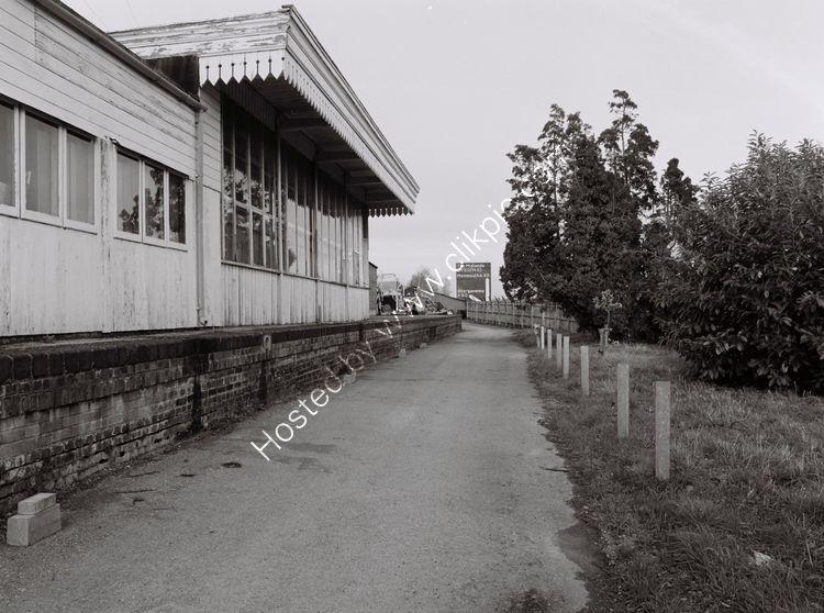 Raglan station, Monmouthshire