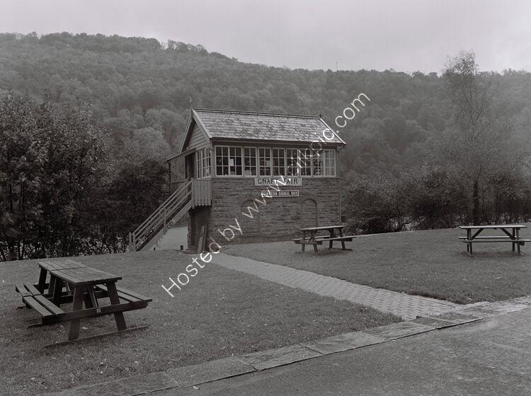 Signal box, Tintern Station, Monmouthshire